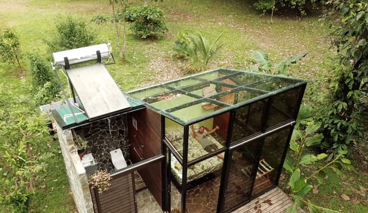 Amazing Glass Room - Jaco - Bijagual