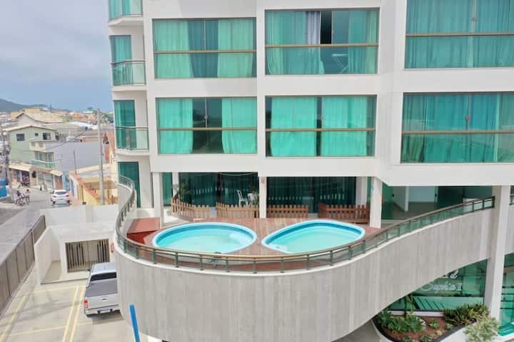 Apartamento Vista para o Mar da Praia Grande