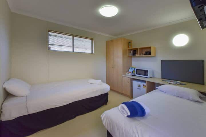 Lake Tyrrell Accommodation - Twin Single Room
