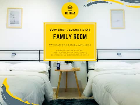 Family/Group Room at Bungalow in City Centre