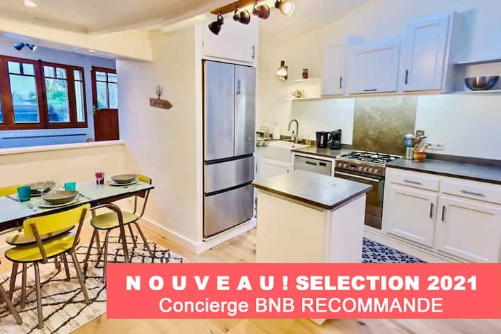 M5 Résidence BNB Confort - House with Garden