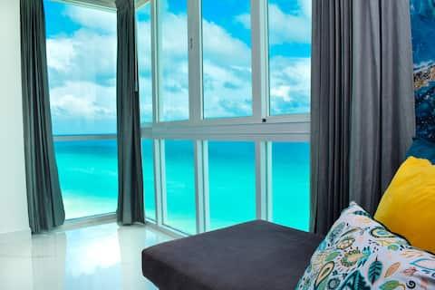 Hermoso Cancun frente al mar 03, nuevo