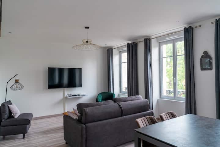 Appartement- 4p. -Charleville- proche centre-ville