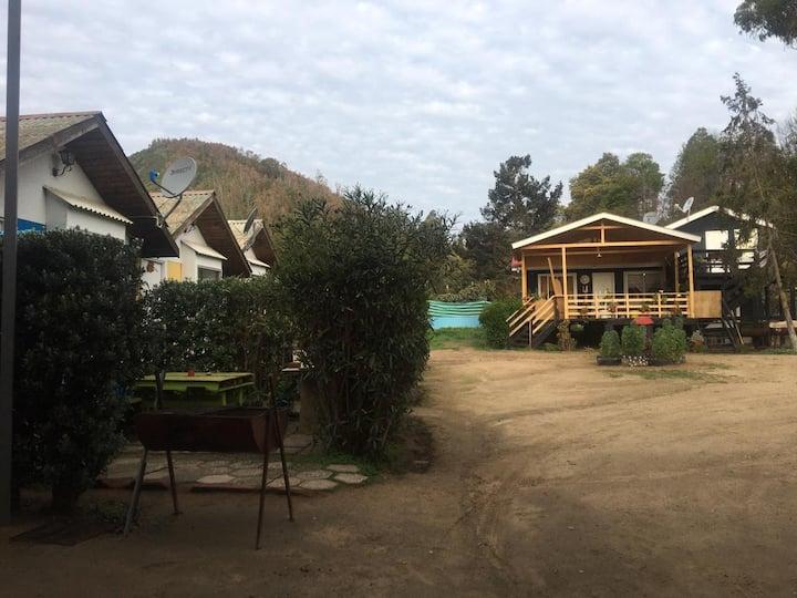 Cabaña 1 en el Conjunto Cabañas Selva Negra.