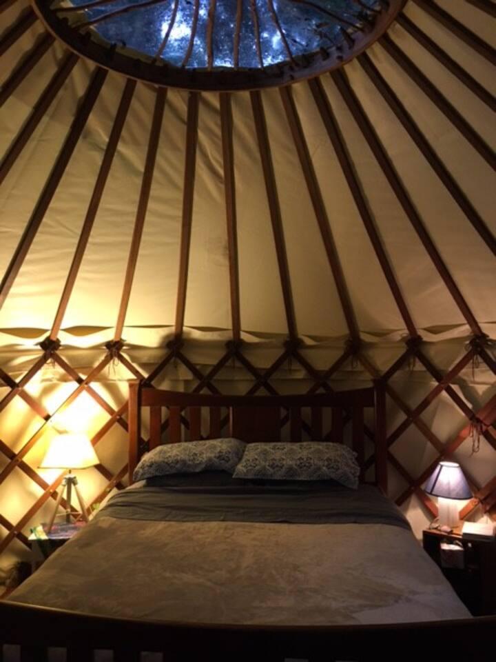 Mullumbimby hand-crafted yurt