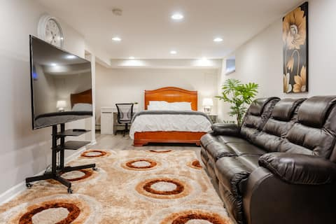 Luxurious Private  Basement Apt in Great  Location