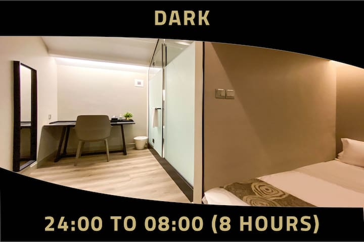 Double Room, 8 Hours: 12MN-8AM at Jalan Besar MRT