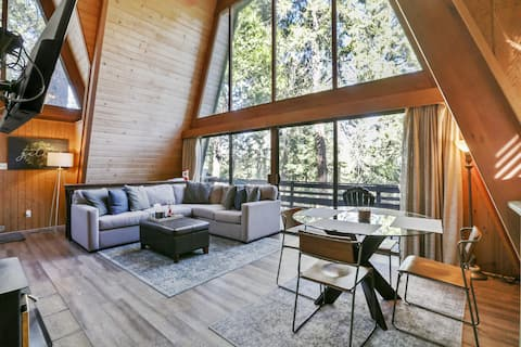 Glass Wall of Forest Views for those w/ Wanderlust