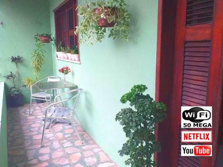☼ Pretty Cozy House ☼ 3 km Praia Futuro ☼ Netflix☼