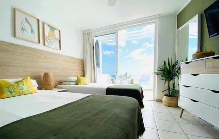 Studio with panoramic views in Puerto del Carmen