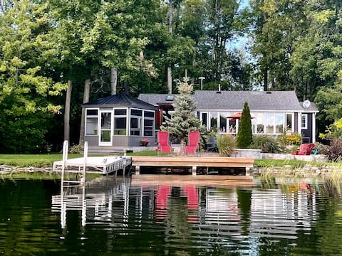 Beautifully Renovated Trent River Cottage Retreat!