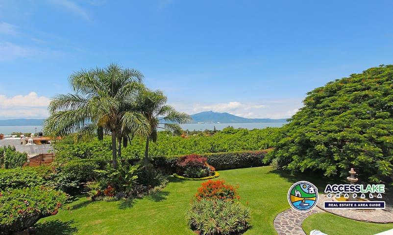 Luxury Ajijic Home with Lake View