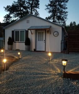Driveway and front entrance lighting