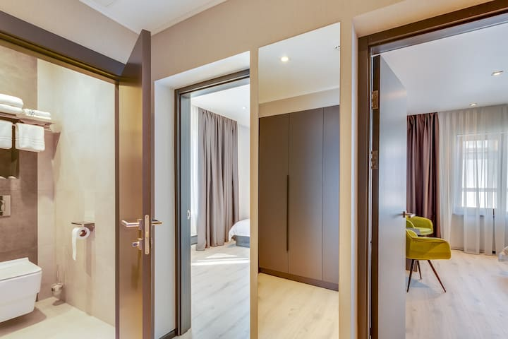 OSOCOR Hotel (luxe with 2 room)