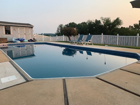 York area home with a Peaceful View