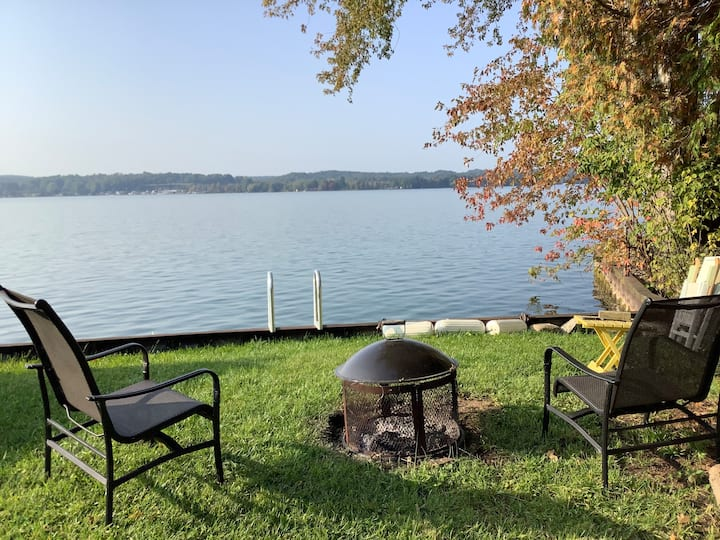 Very Comfortable Home with Lake Front Lot