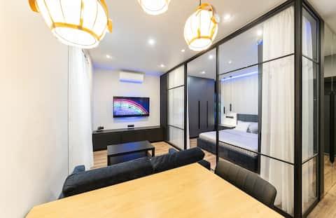 Moderne Loft-Wohnung