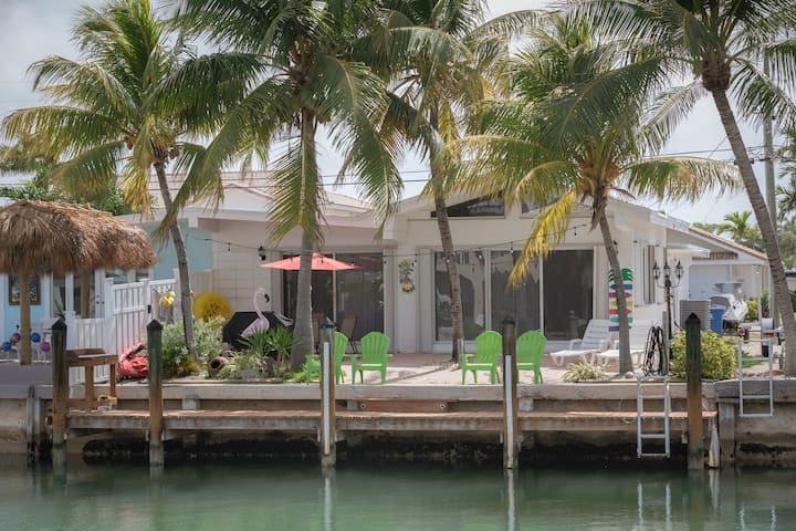 Key Colony Retreat/37.5 Dock/Sandy Beach/Pool