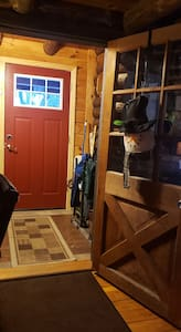 Entry way with mud room