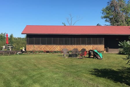 Private Lakehouse and Landing  on north Mille Lacs