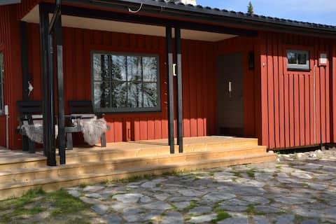 Mysig stuga i Björnlidens fjällby, Grövelsjön