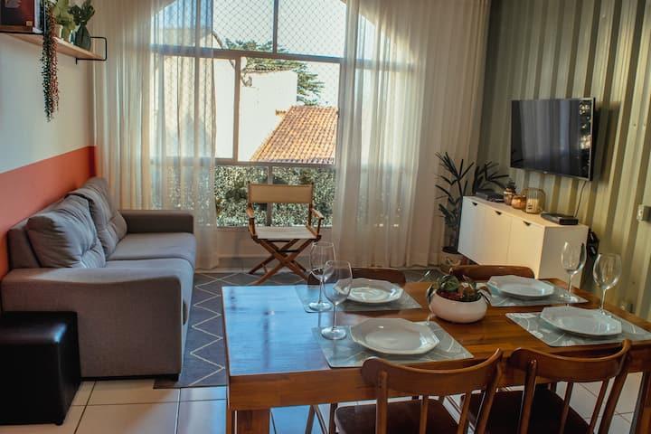 Apê403! Lindo apartamento na Praia do Canto.
