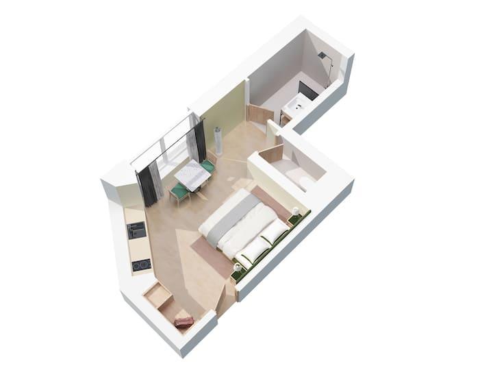 Apartment 'Leni' designed by Matteo Thun