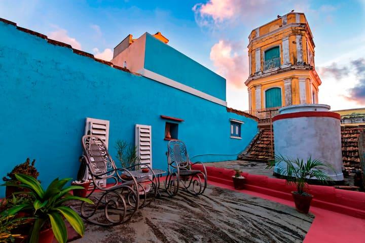 Casa privada para el huésped-En Casco Histórico