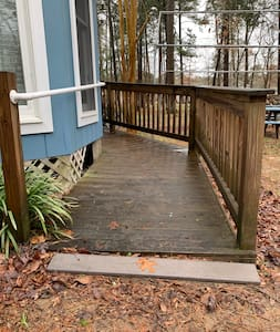 ADA accessible ramp is available