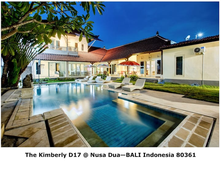 Suite #5 for Rent >Vila Kimberly D-17 @ Nusa Dua