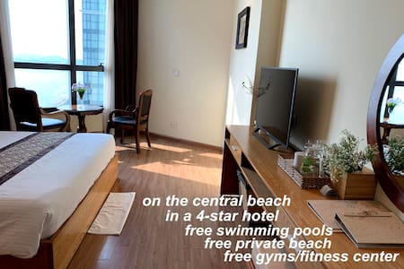 Luxury Ocean-View Studio Apt., Central Nha Trang