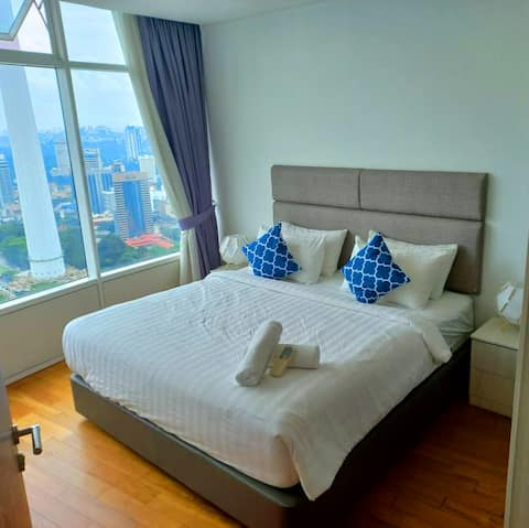 5 Minutes Walking Distance to Most KL Attractions