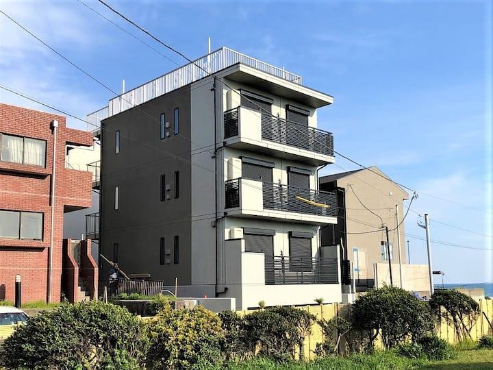 パーパスリゾート オーシャンビュー鎌倉 2階 由比ガ浜海辺の眺めのいい家