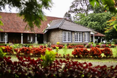 Tea Planters Bungalow Is An 100 Year Old Bungalow