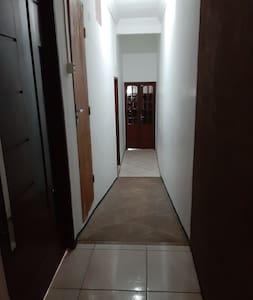 corredor de acesso