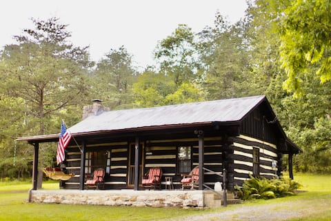 The Log Cabin at Warden Lake