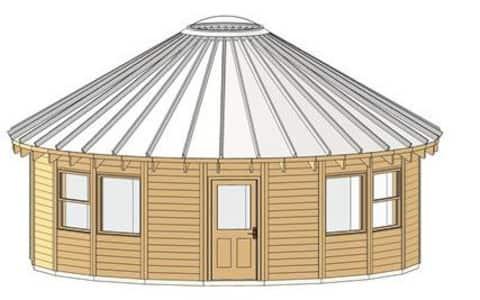 SUMMER ROSE a Yurt for ALL Seasons