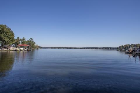 Lake front, private lot w/dock. Ridgeway,  SC