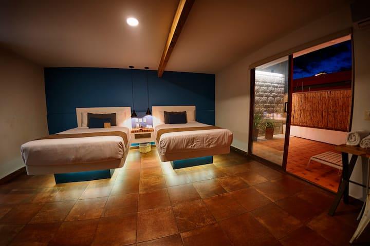 Hotel Casa De Sierra Azul, Suite Terraza 2 Dobles
