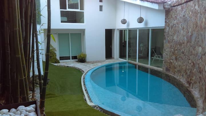 Villa Acapulco Guitarrón con alberca privada