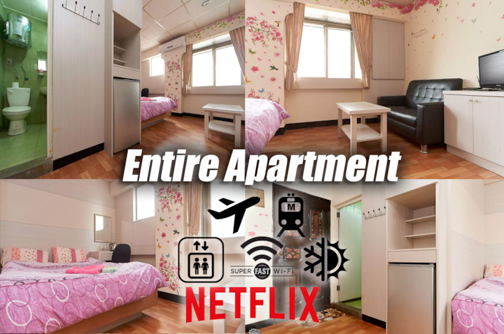 Entire Apartment󰀄Top Location@Taipei Main Station