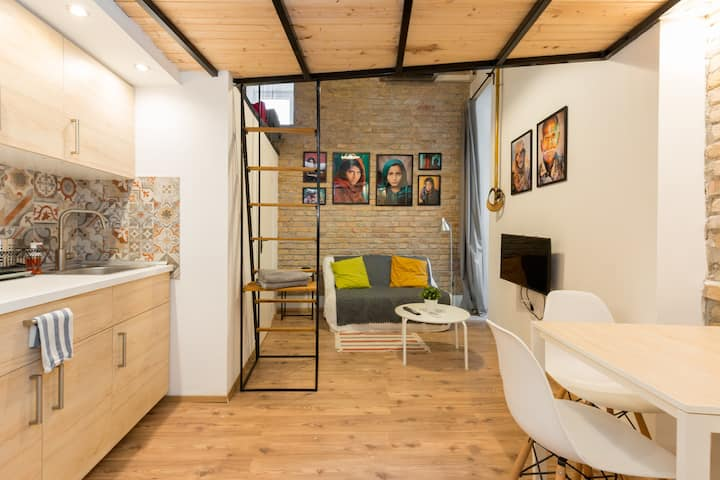 MicroLoft in Central Budapest