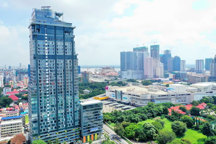 Studio for Rent in front of Aeon Mall 1, floor20th