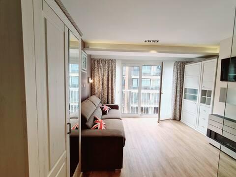 Cozy apartement with sea view - Oostduinkerke