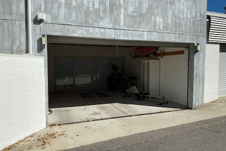 Large double garage for guests use only.