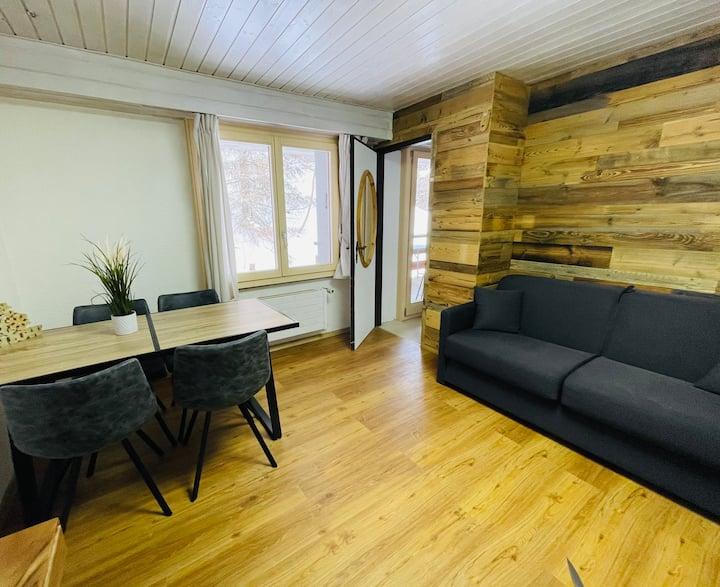 Charmant petit appartement au cœur de Grimentz !