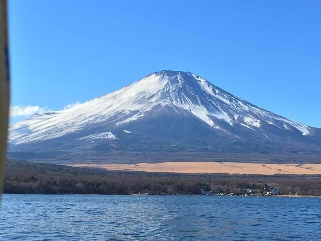 富士山眺望の日本旅館、大自然を満喫できる静かな富士鹏欣会馆#山中湖#森の駅旭日丘 徒歩2分