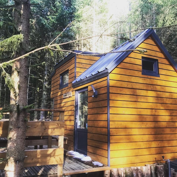 Tiny House 100% éco in the forest : The River