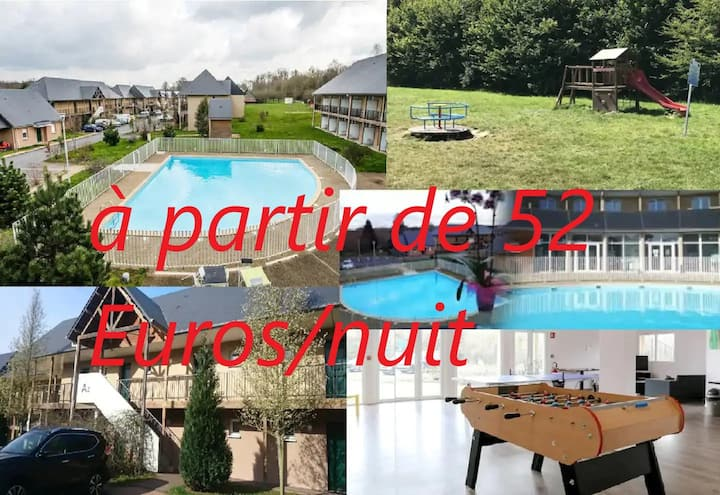Le Havre de Paix 8 ; Piscine Parking free WIFI