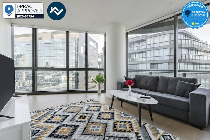 STAY&CO - AMAZING Corporate Apartment 2BR|2BA